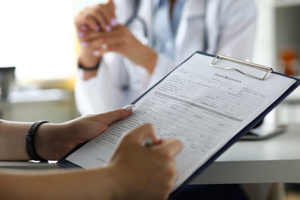 Fragebogen Arzt