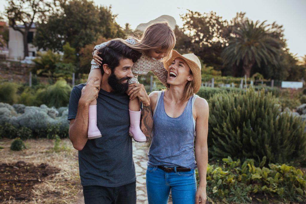 Mutter, Vater und Kind